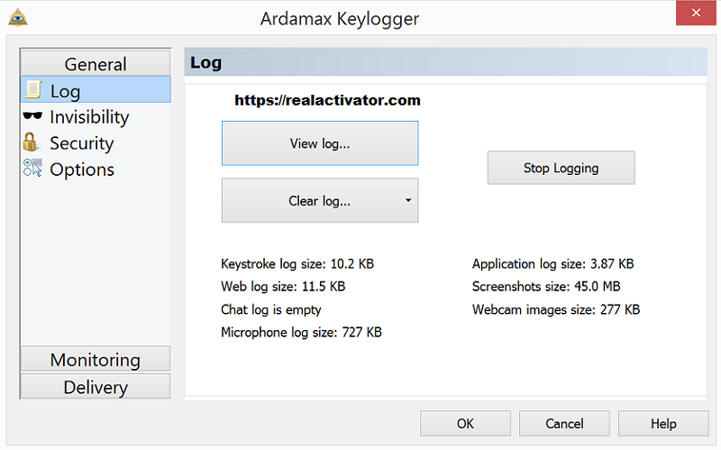 ardamax keylogger latest version free download with crack