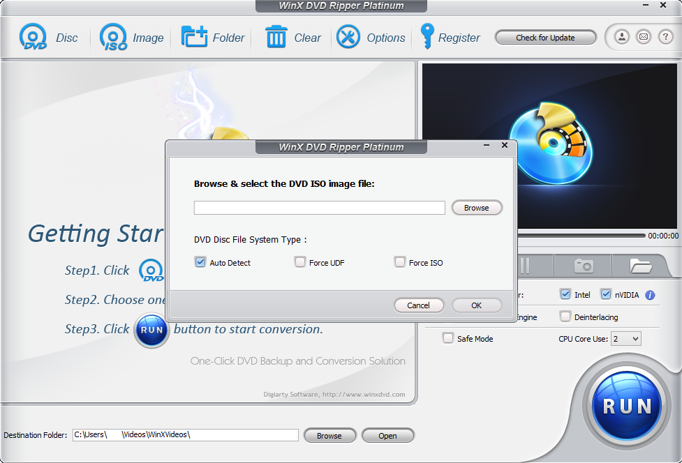 WinX DVD Ripper Platinum + Serial Key 8.20.2 Version With Crack