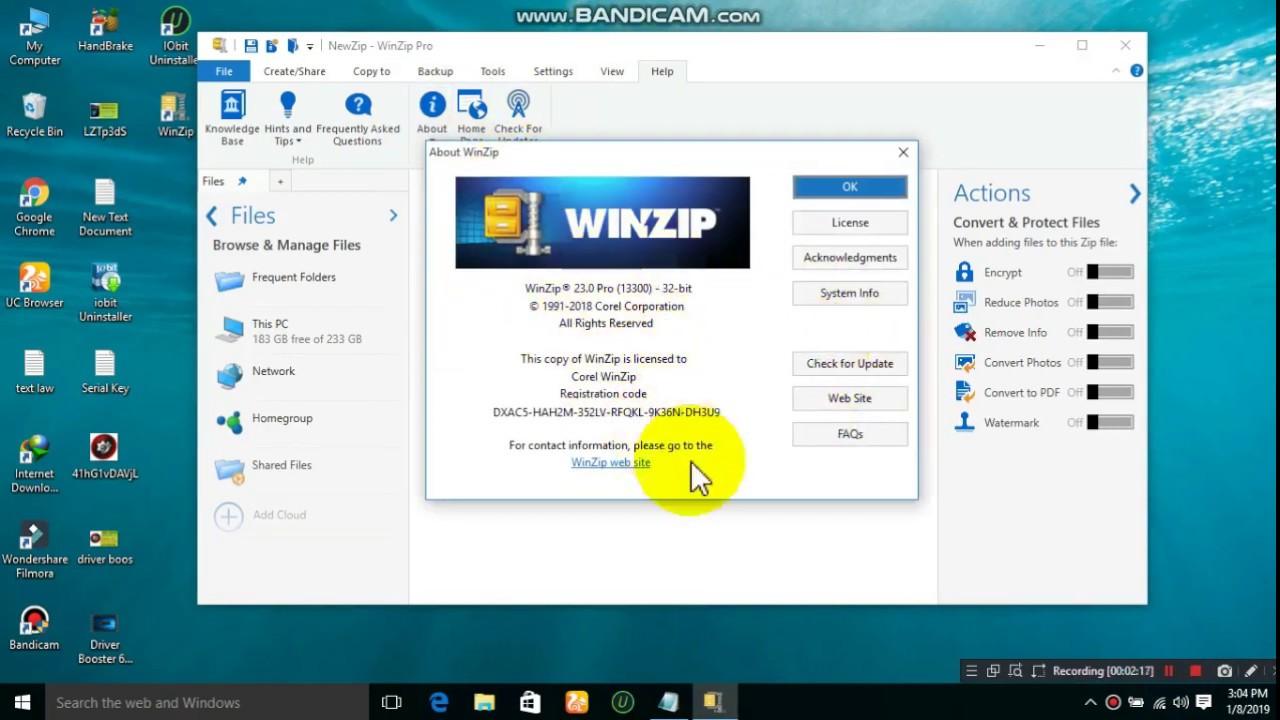 WinZip Pro 24 Crack + Activation Code Full Free Keygen 2020