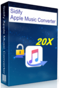 Sidify Apple Music Converter 4.1.1 Crack Serial Number Full Version 2020