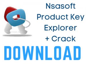 Nsasoft Product Key Explorer Crack
