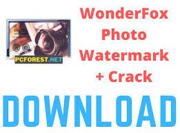 WonderFox Photo Watermark Crack