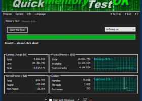 QuickMemoryTestOK Crack 2.31 Free Download [Latest]